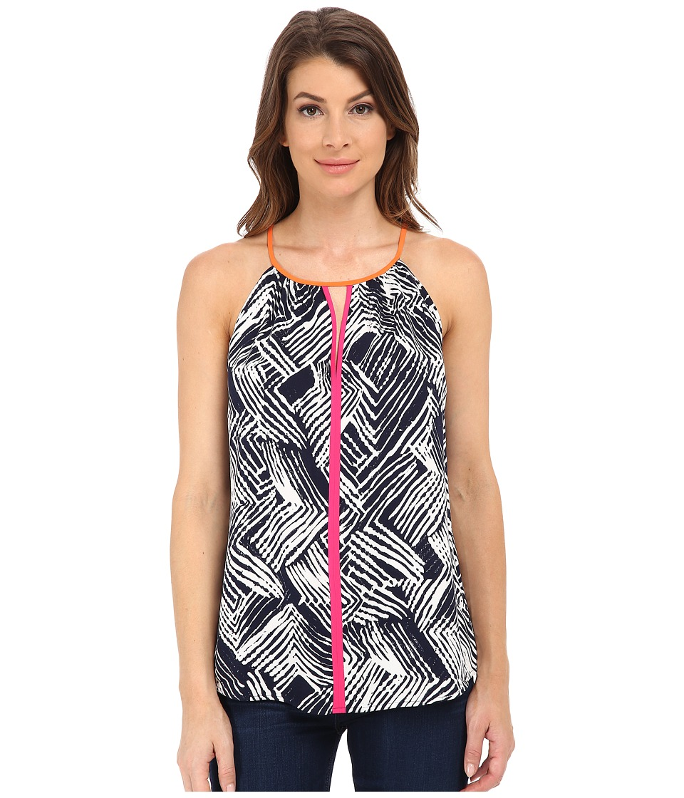 Trina Turk - Daniella Top (Indigo) Women's Clothing