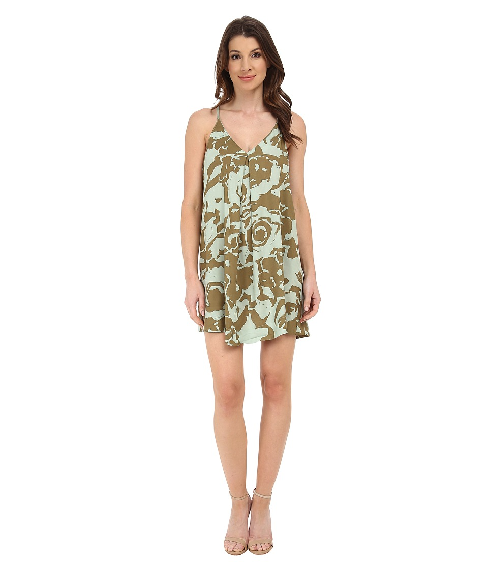 Michael Stars - Mod Floral Cami Dress (Caper) Women's Dress