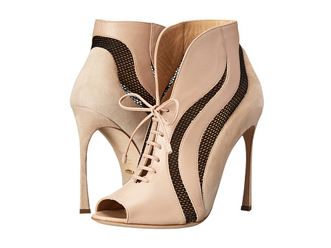 Sergio Rossi - Wave (Var. New Nude) Women's Lace-up Boots