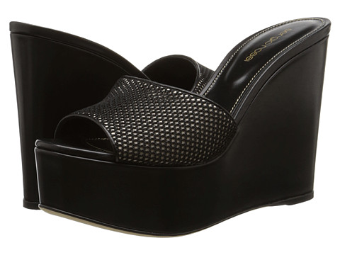 Sergio Rossi - A49520 MAF523 (Var. Nero 1) Women's Wedge Shoes