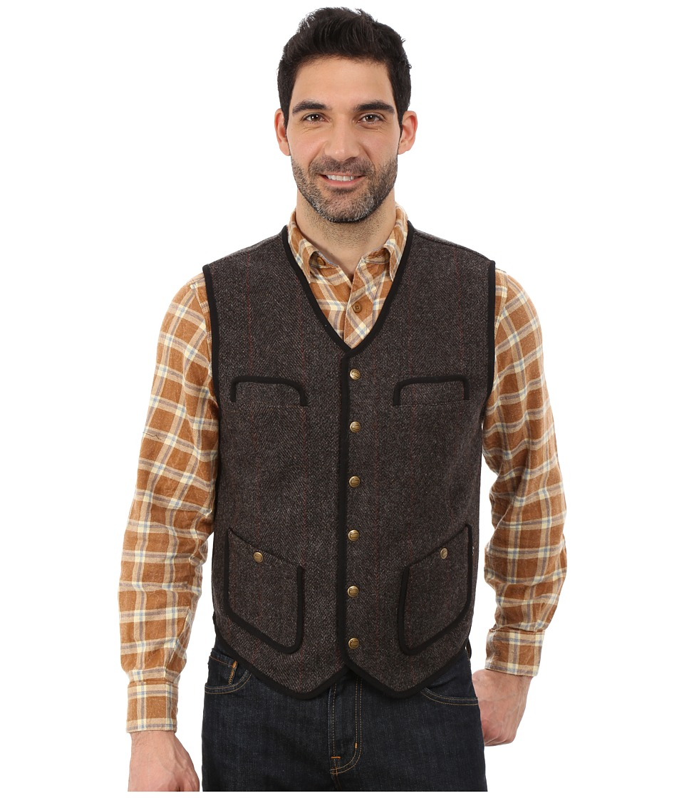 Woolrich - Utility 12 Vest (Wood Herringbone) Men