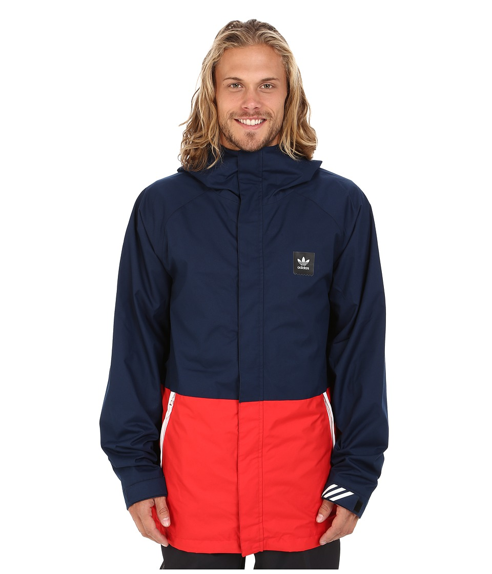 adidas Skateboarding - Riding Jacket (Collegiate Navy) Men's Coat