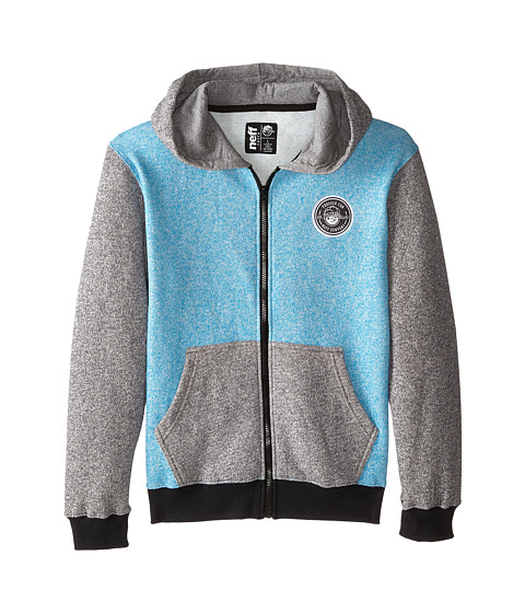 Neff Kids - Daily Zip Hoodie (Big Kids) (Blue) Boy