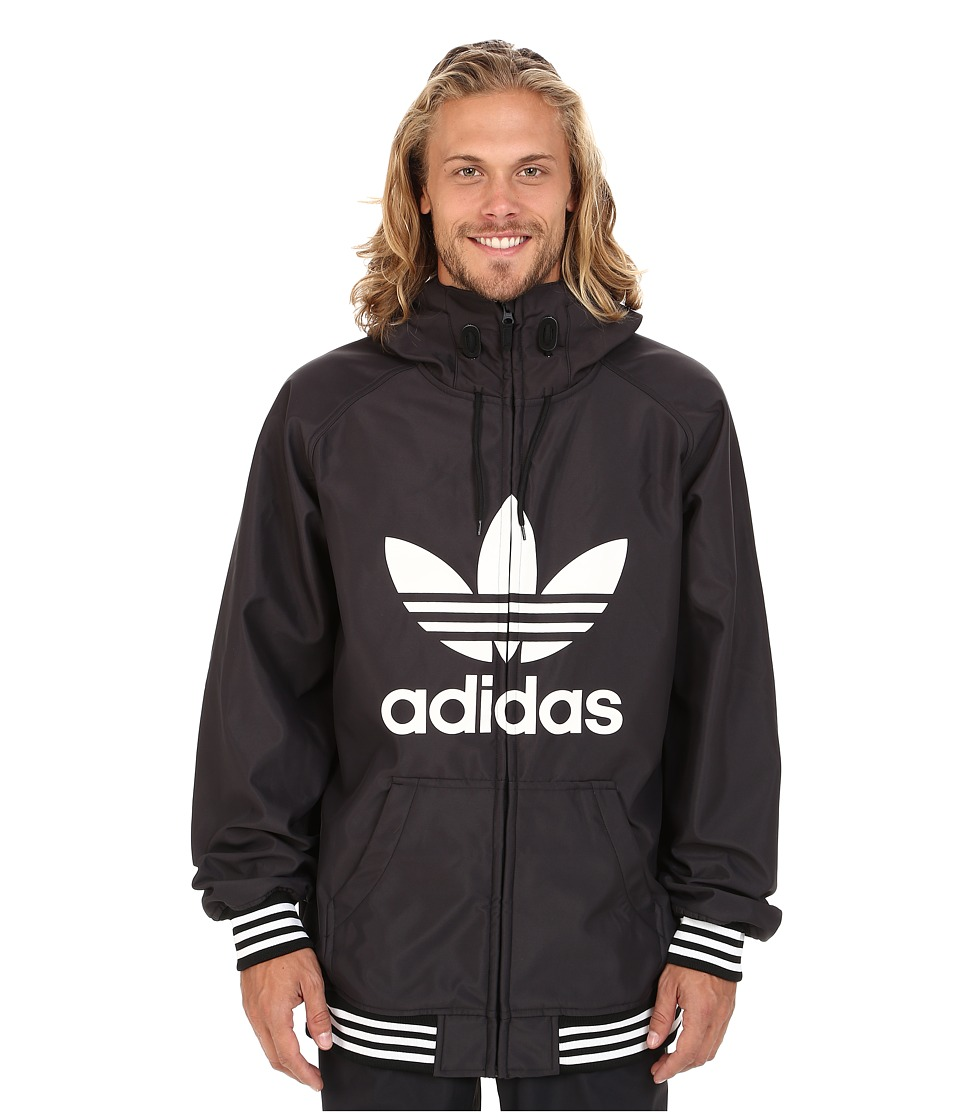 adidas Skateboarding - Greeley Soft Shell Jacket (Black) Men's Coat