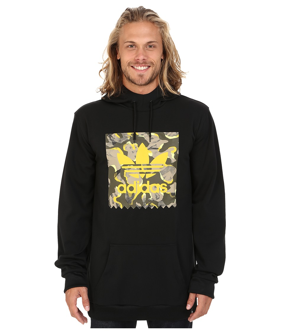 adidas Skateboarding - Camo Tech Hoodie (Black) Men's Sweatshirt