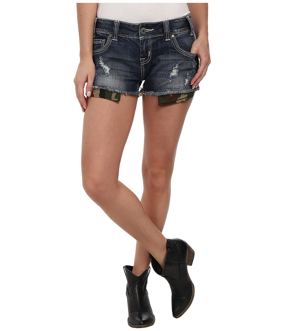 Rock and Roll Cowgirl - Low Rise Shorts (Dark Vintage) Women