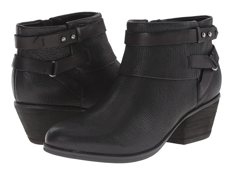 Clarks - Gelata Freeza (Black Leather) Women's Shoes