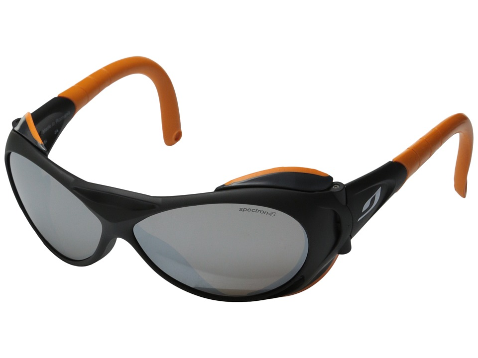 Julbo Eyewear - Explorer (Black/Orange) Sport Sunglasses