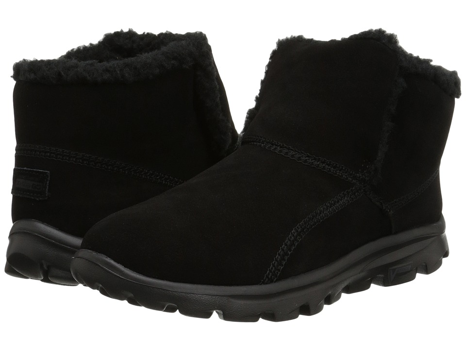 SKECHERS Performance - Go Walk Move - Chugga Imprint (Black) Women's Boots