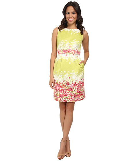 Tahari by ASL - Tracy - B Dress (Citrine Green) Women's Dress