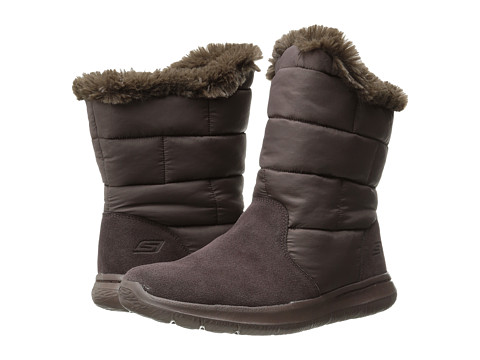 SKECHERS Performance - Go Walk City (Chocolate) Women's Boots