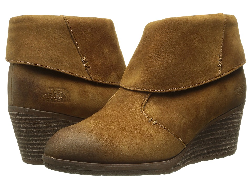 The North Face - Bridgeton Wedge Bootie (Sequoia Red/Cappuccino Brown) Women
