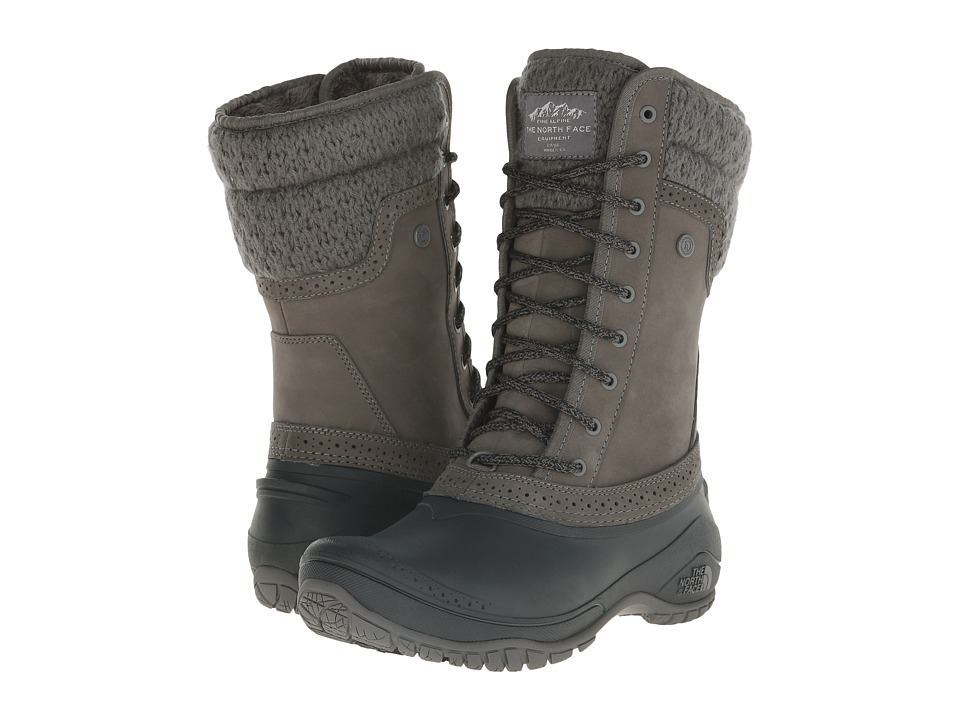 The North Face - Shellista II Mid (Plum Kitten Grey/Phantom Grey) Women's Cold Weather Boots