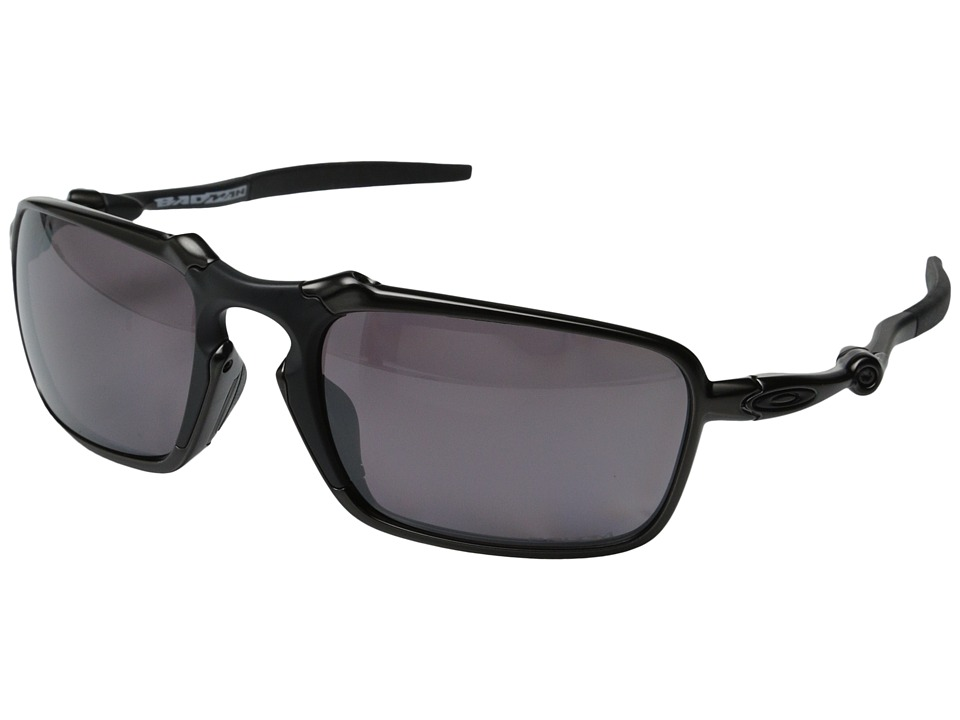 Oakley - Badman (Dark Carbon/Prizm Daily Polarized) Sport Sunglasses