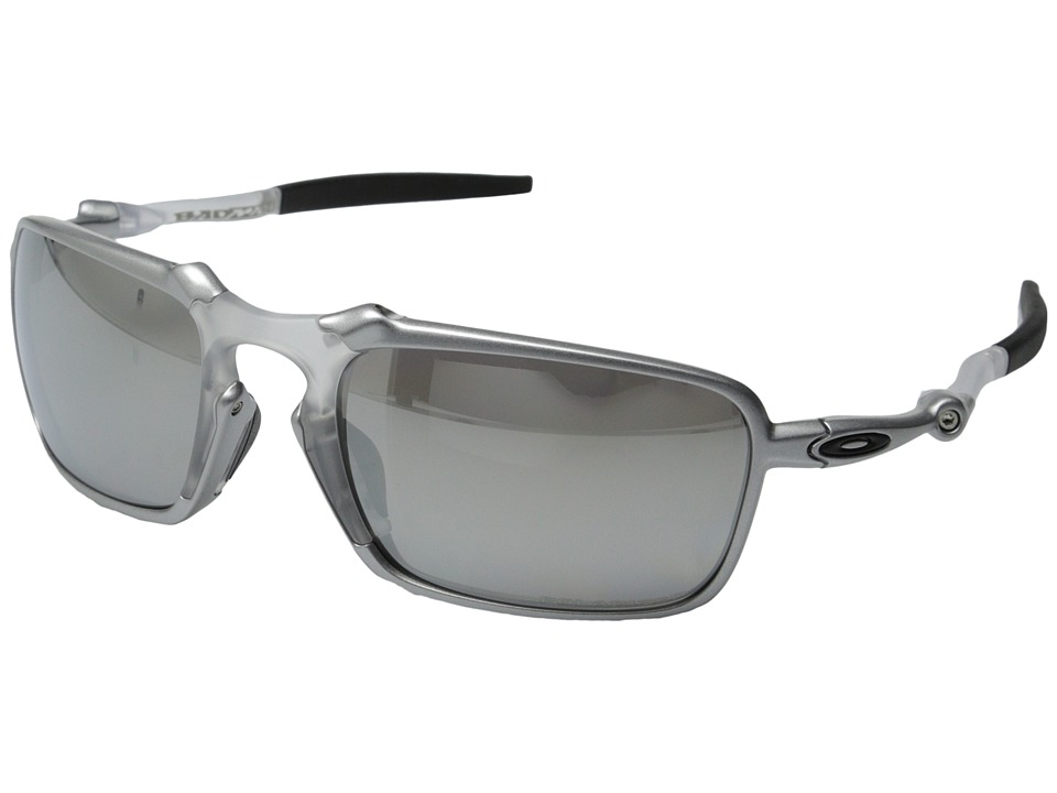 Oakley - Badman (X Ti/Chrome Iridium Polarized) Sport Sunglasses