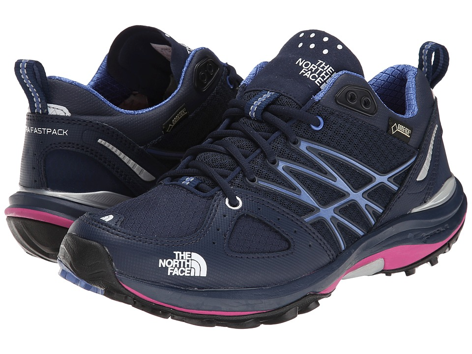 The North Face - Ultra Fastpack GTX (Cosmic Blue/Rocket Red 1) Women