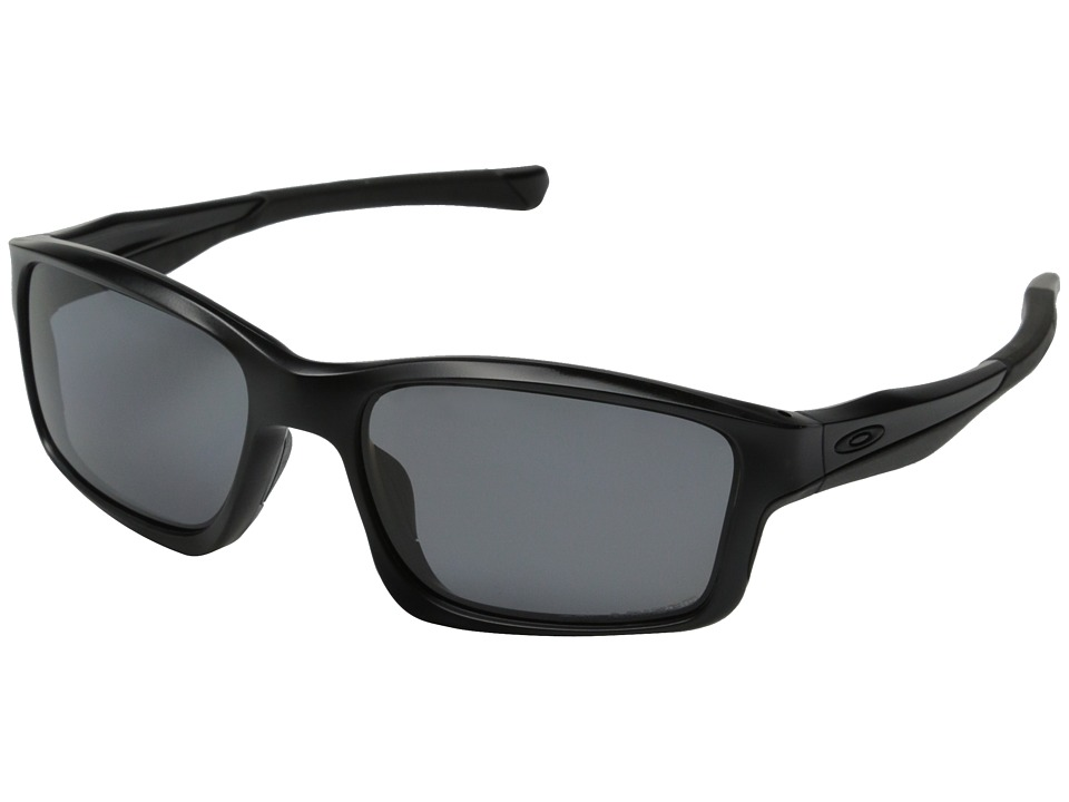 Oakley - Chainlink (Matte Black/Grey Polarized) Fashion Sunglasses