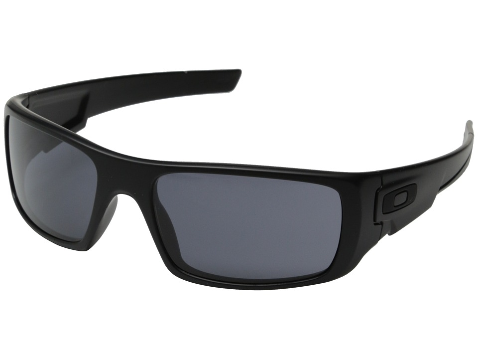 Oakley - Crankshaft (Matte Black/Grey) Fashion Sunglasses