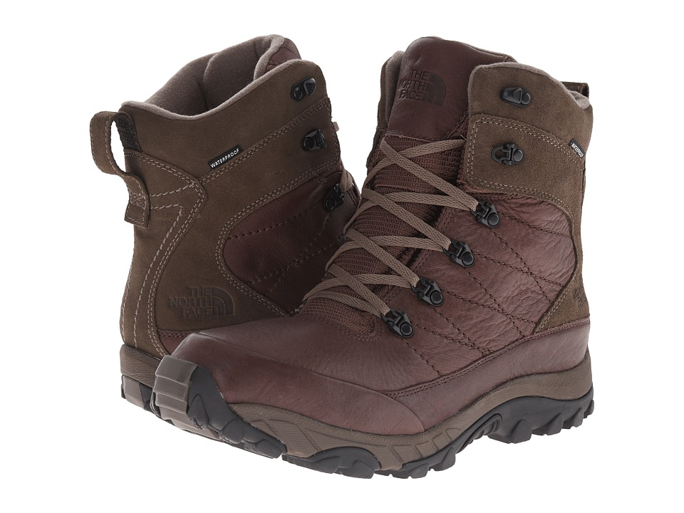 The North Face - Chilkat Leather Insulated (Demitasse Brown/Shroom Brown) Men
