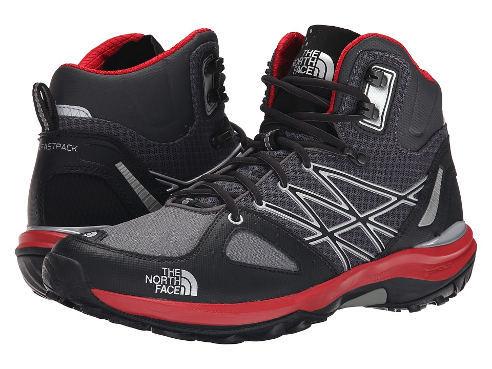 The North Face - Ultra Fastpack Mid (Zinc Grey/TNF Black 1) Men's Shoes