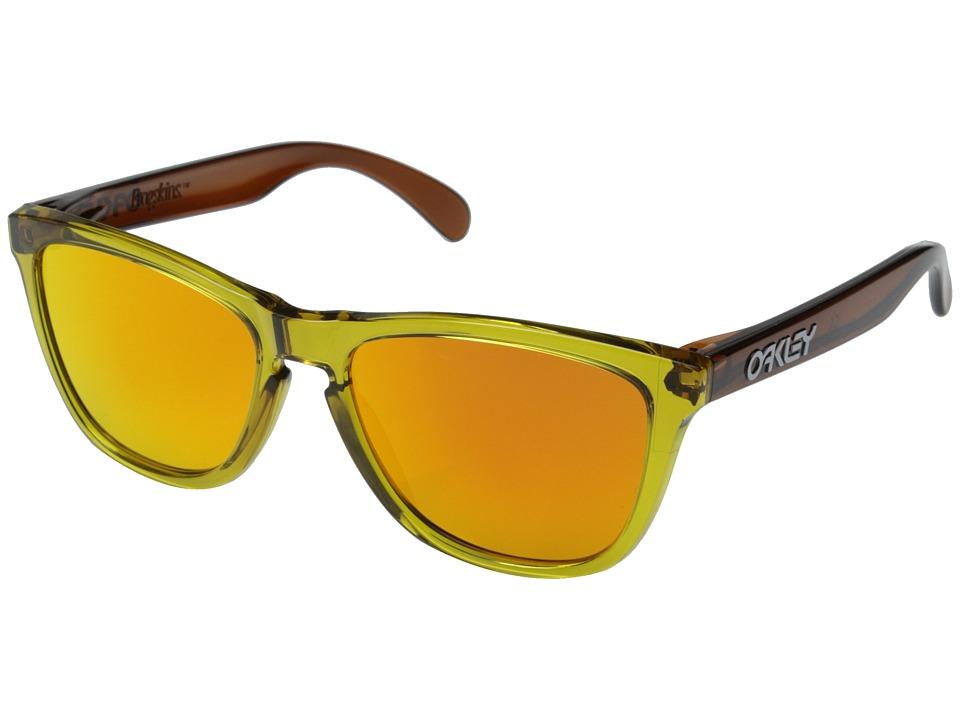 Oakley - Frogskins (Brown/Fire Iridium) Sport Sunglasses