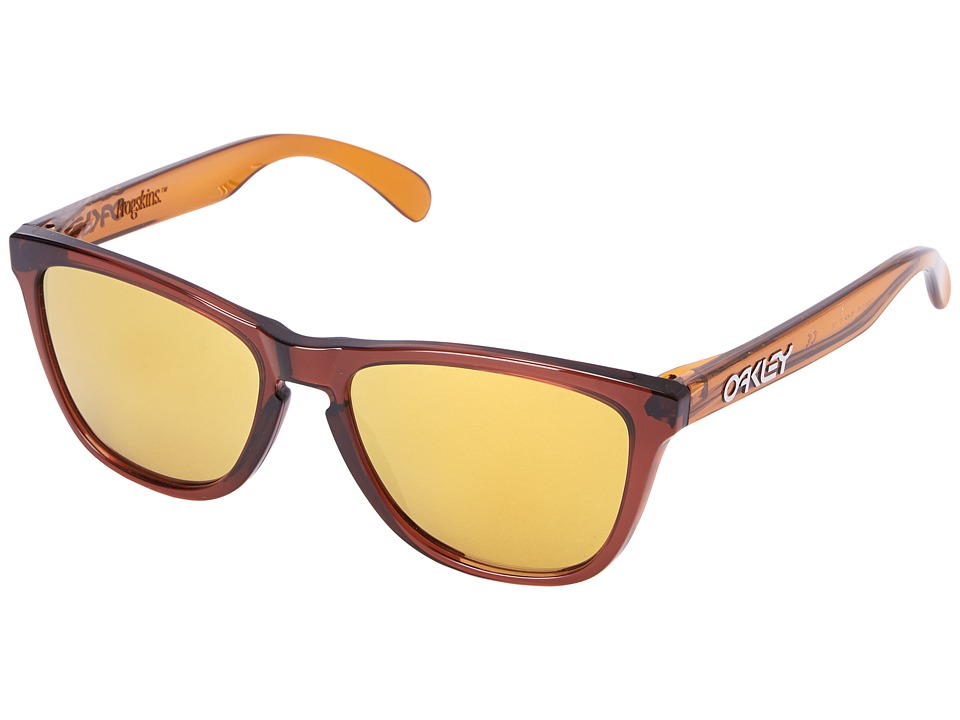Oakley - Frogskins (Brown/24K Iridium) Sport Sunglasses
