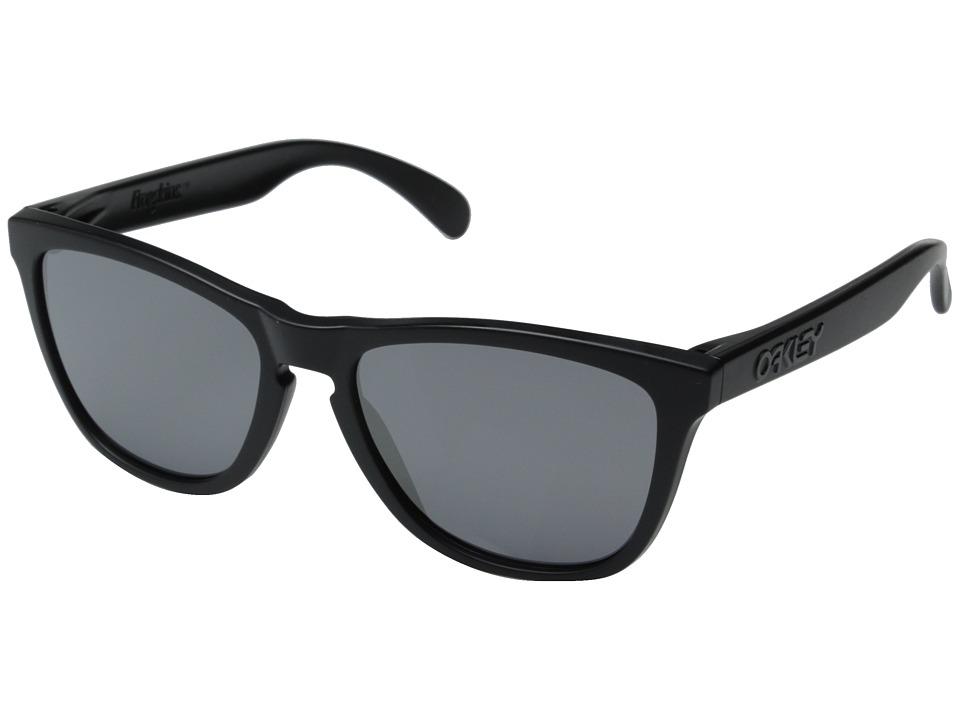 Oakley - Frogskins (Matte Black/Black Iridium) Sport Sunglasses