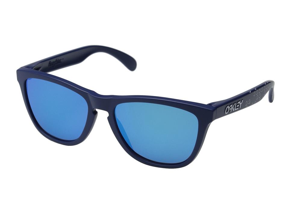 Oakley - Frogskins (Blue/Sapphire Iridium) Sport Sunglasses