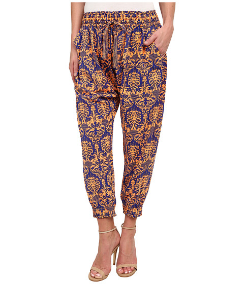 KAS New York - Jasalyn Printed Jogger Pants (Multi) Women's Casual Pants