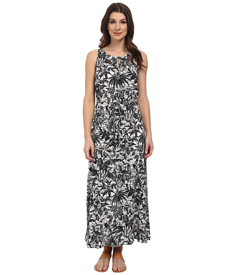 TWO by Vince Camuto - Sleeveless Jungle Escape Keyhole Maxi Dress (Ultra White) Women