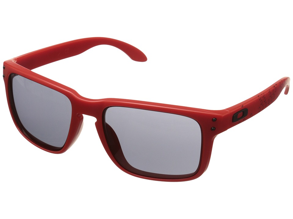 Oakley - Holbrook (Red/Grey) Sport Sunglasses