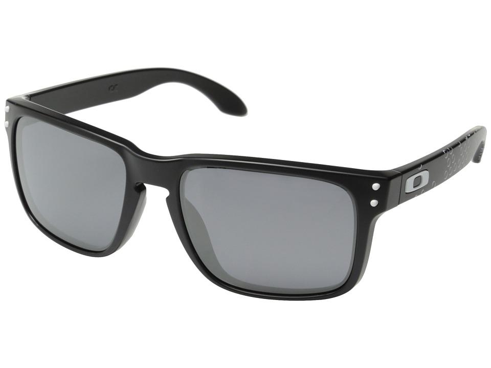 Oakley Holbrook (Matte Black/Black Iridium) Sport Sunglasses