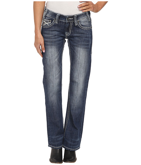 Rock and Roll Cowgirl - Riding Bootcut in Medium Vintage W7-2463 (Medium Vintage) Women's Jeans