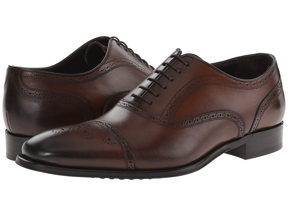 Mens To Boot New York Benton Oxfords Shoes Brown YTL89845