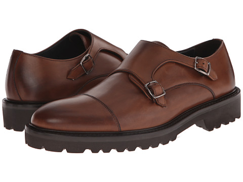To Boot New York - Cole (38 Ant Berry) Men's Monkstrap Shoes