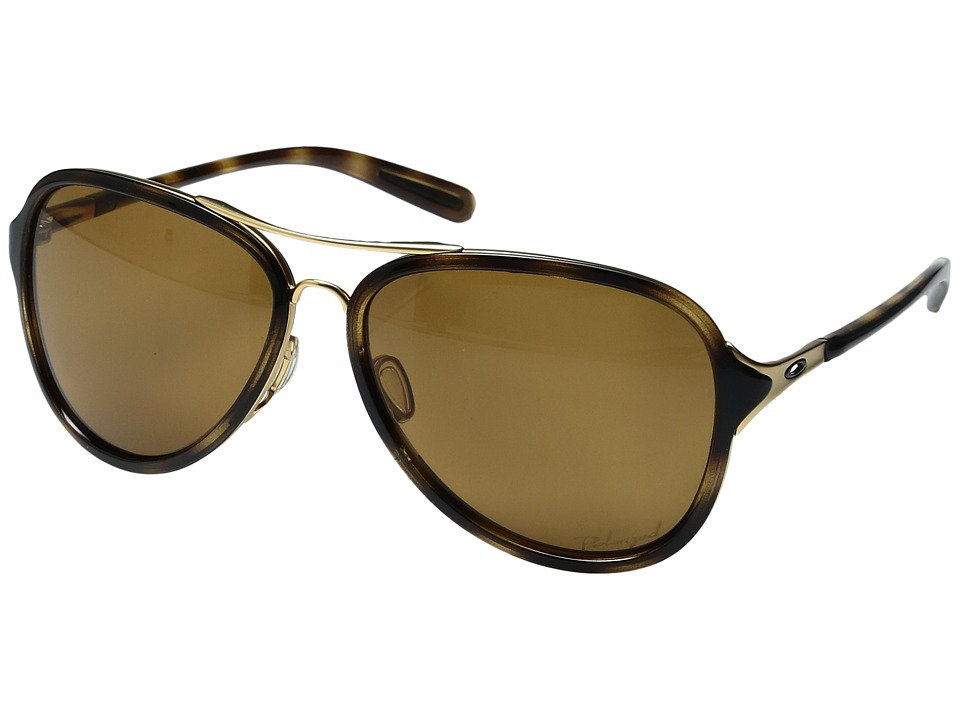 Oakley - Kickback (Gold Satin/Bronze Polarized) Sport Sunglasses