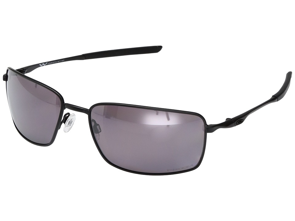 Oakley - Square Wire (Black/Prizm Daily Polarized) Sport Sunglasses