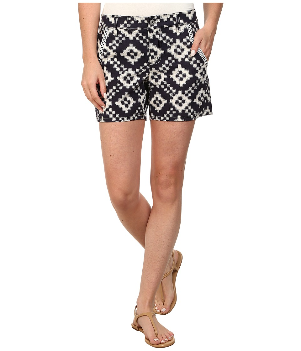 TWO by Vince Camuto - Tribal Diamond Five-Pocket Shorts (Evening Navy) Women