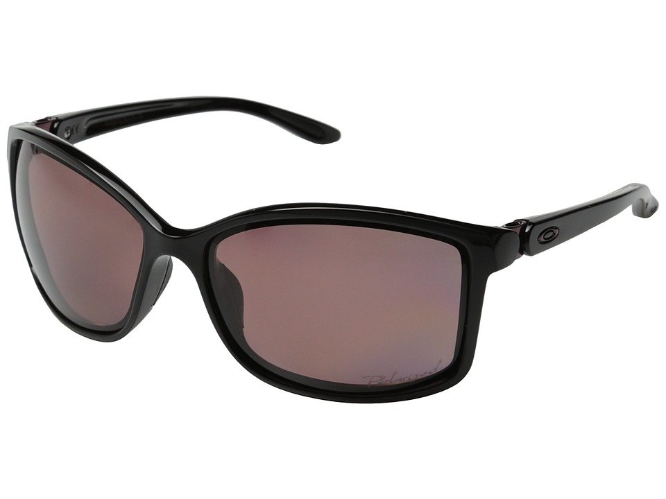 Oakley - Step Up (Polished Black/OO Grey Polarized) Sport Sunglasses