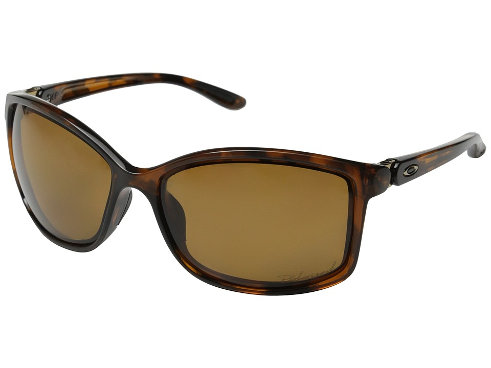 Oakley - Step Up (Tortoise/Bronze Polarized) Sport Sunglasses