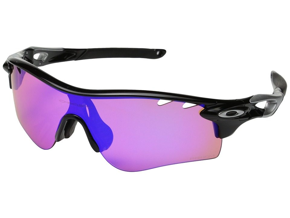 Oakley - Radarlock Path (Polished Black/Prizm Trail) Sport Sunglasses