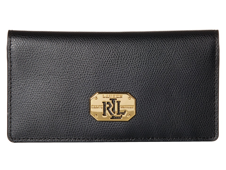 LAUREN Ralph Lauren - Whitby Slim Wallet (Black) Wallet Handbags