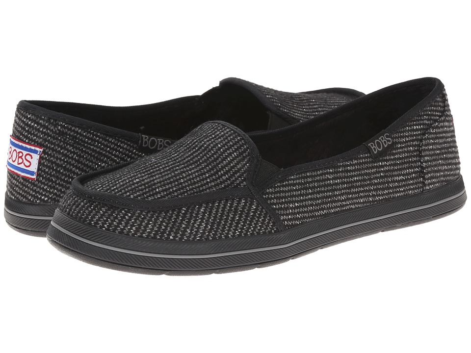 BOBS from SKECHERS - Bobs Flexy - Supa Chill (Black) Women