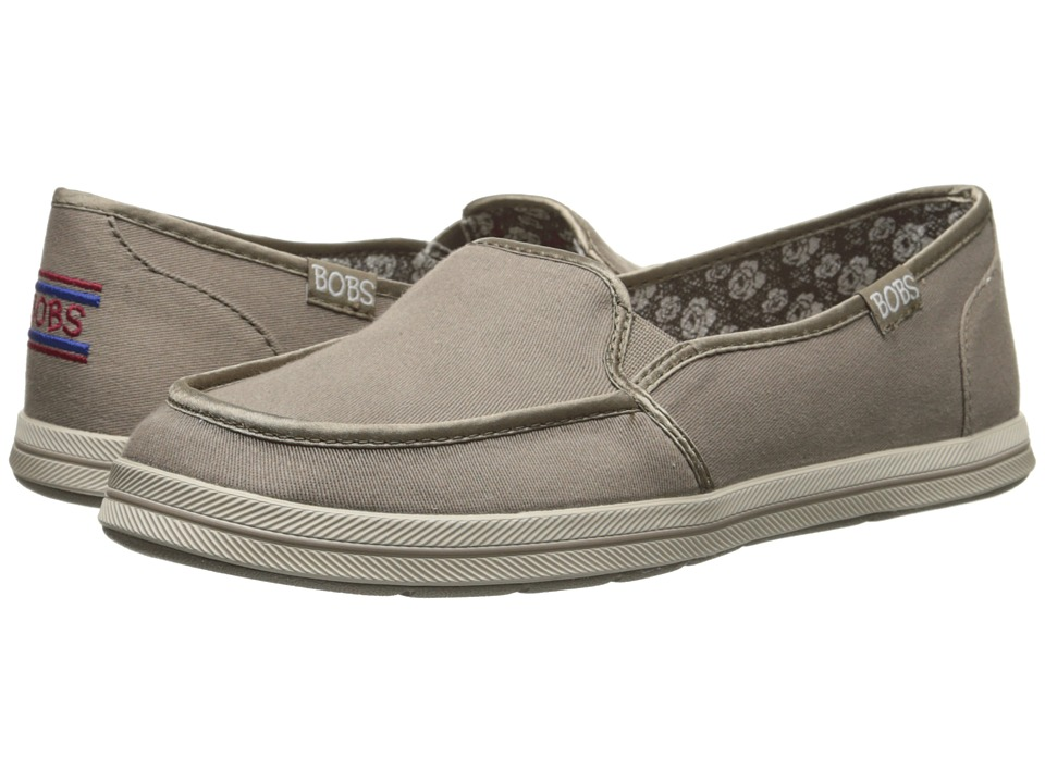 BOBS from SKECHERS - Bobs Flexy - Kick Start (Taupe) Women