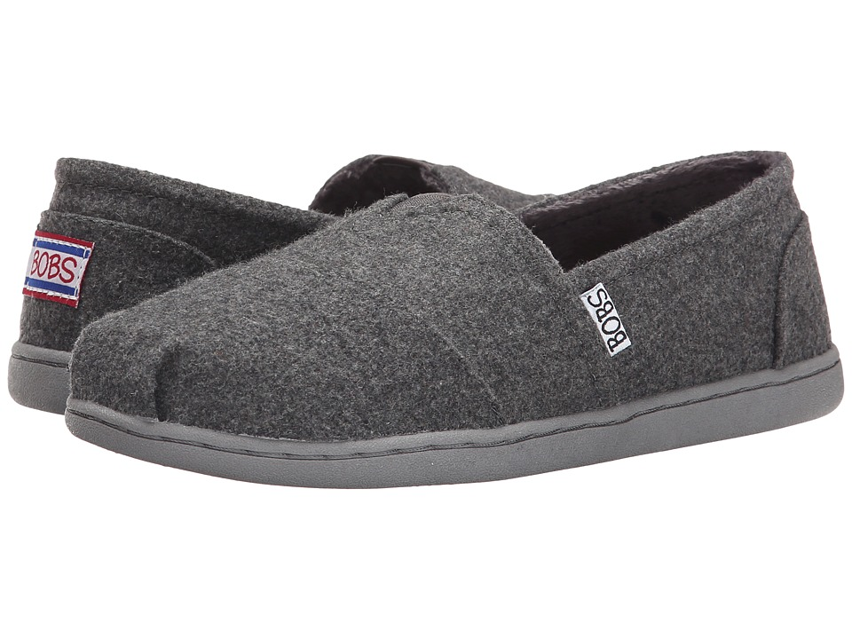 BOBS from SKECHERS - Bobs Bliss - Hot Cocoa (Charcoal) Women's Slip on Shoes