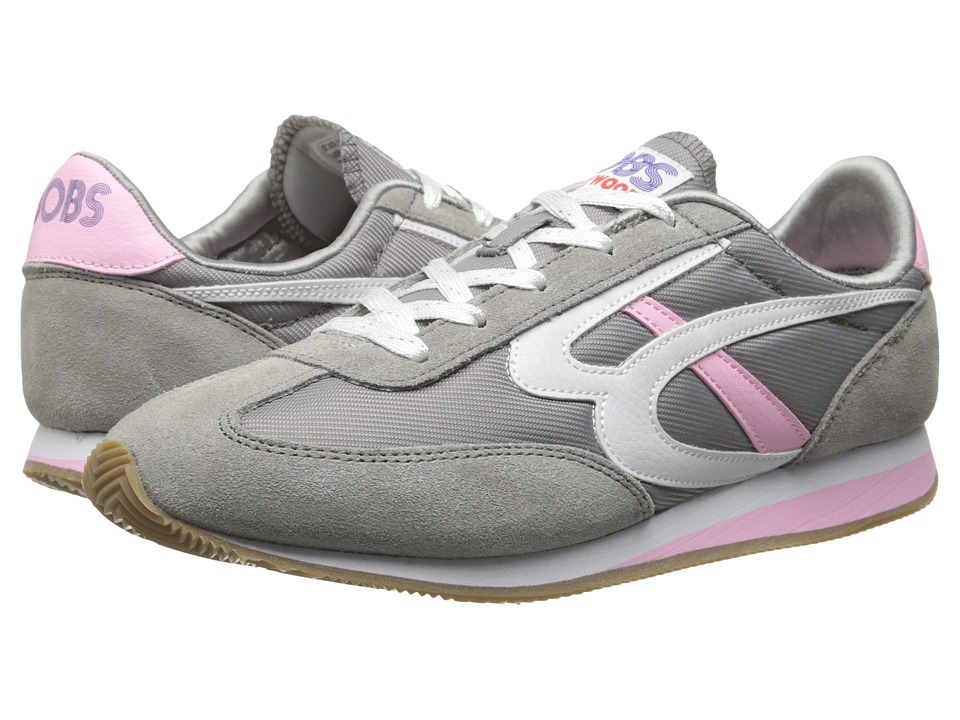BOBS from SKECHERS Sunset (Gray/Pink) Women