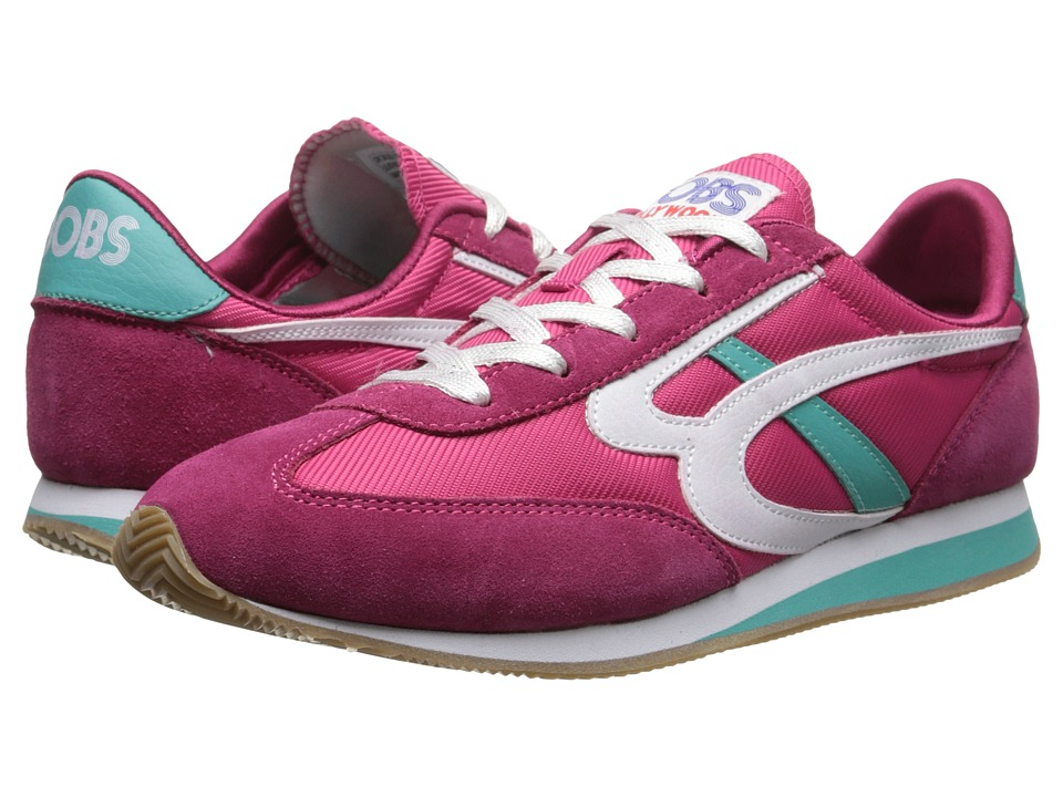 BOBS from SKECHERS Sunset (Hot Pink/Turquoise) Women