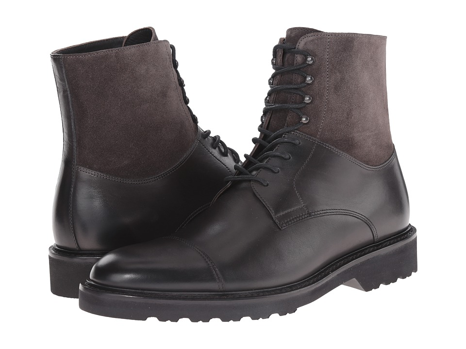 To Boot New York - Tyler (Grey) Men's Lace-up Boots