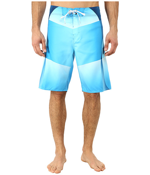 Billabong - Fluid Boardshorts (Blue) Men's Swimwear