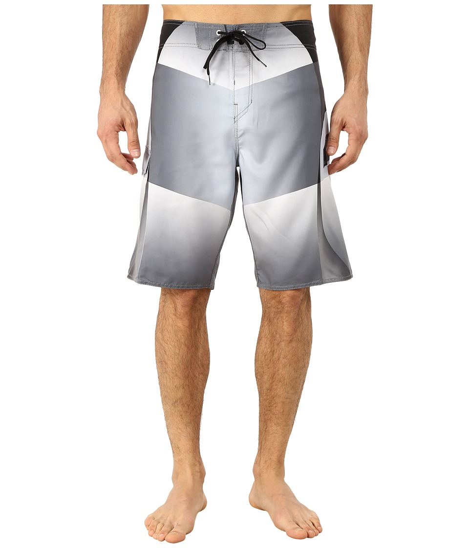 Billabong - Fluid Boardshorts (Grey) Men's Swimwear